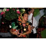 Girl in Huatulco Parade. Photo by Charles Oldham. All rights reserved.