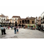 Plaza in Segovia. Photo by Joyce Meyer. All rights reserved.