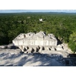 Maya ruins, Calakmul Biosphere. Photo by Rick Taylor. Copyright Borderland Tours. All rights reserved.